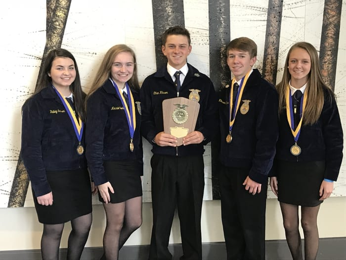 WCHS students bring home FFA state awards – The News Reporter