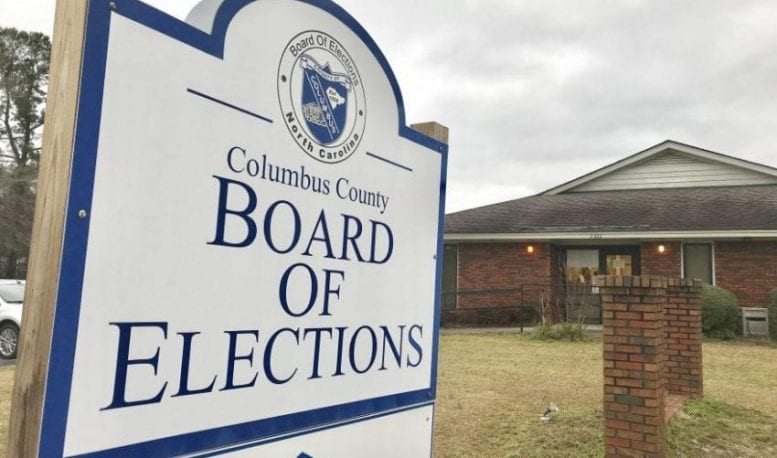 Elections board to move, filing underway in Lake Waccamaw