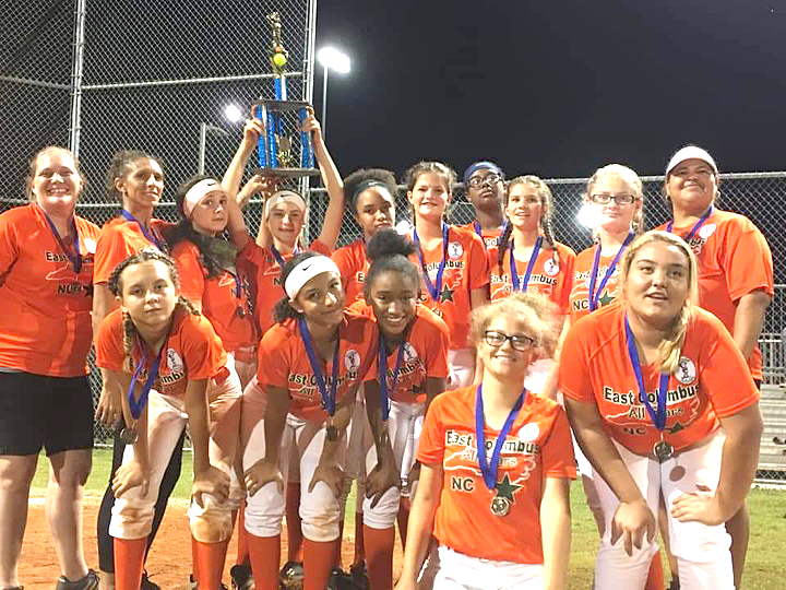 East Columbus Belles win Dixie Softball District 9 – The News Reporter