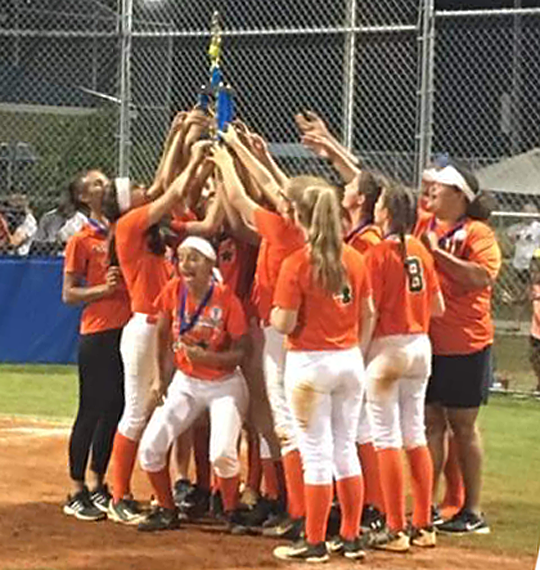 East Columbus Belles win Dixie Softball District 9 – The