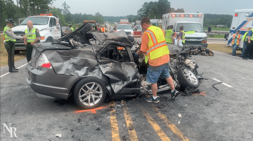 Toddler dies of injuries in Thursday wreck – The News Reporter