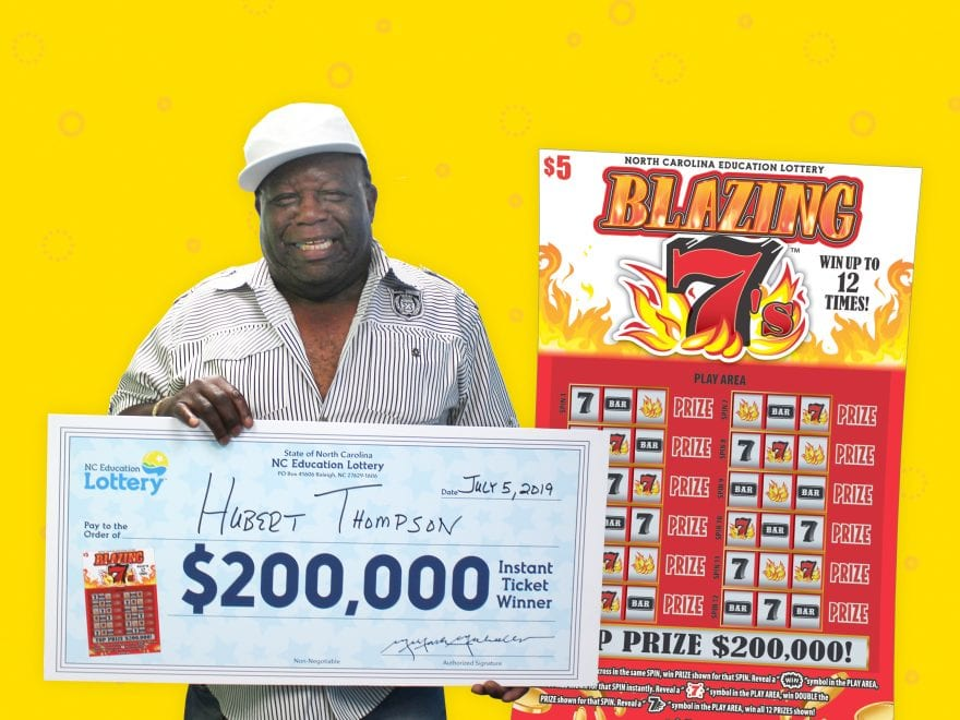 Whiteville truck driver picks up first $200,000 prize in