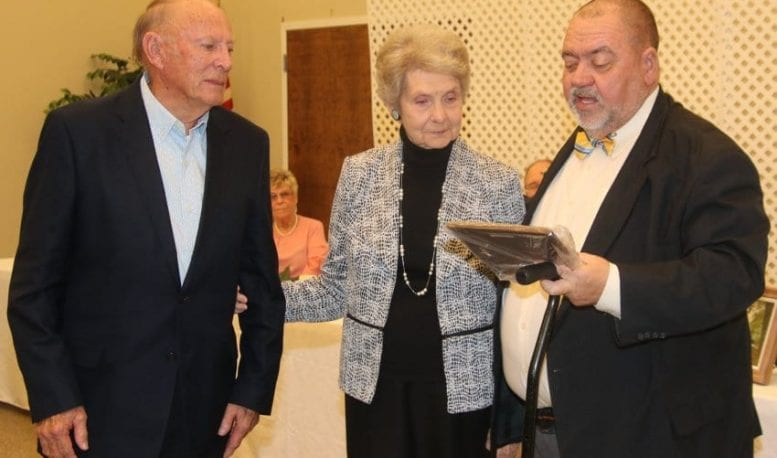 Fair Bluff Chamber hears about economic development, recognizes several citizens for service at annual banquet