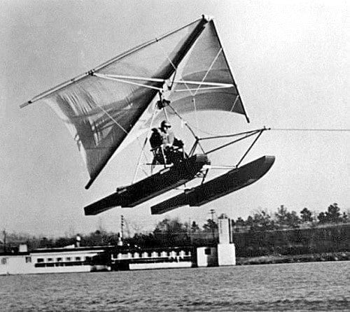 Column: Hang-gliding over water happened for the first time at Lake Waccamaw