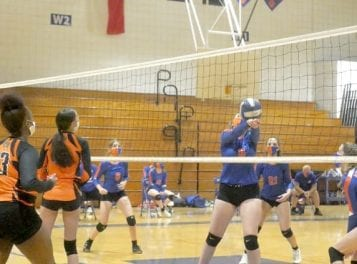 Tuesday Three Rivers volleyball