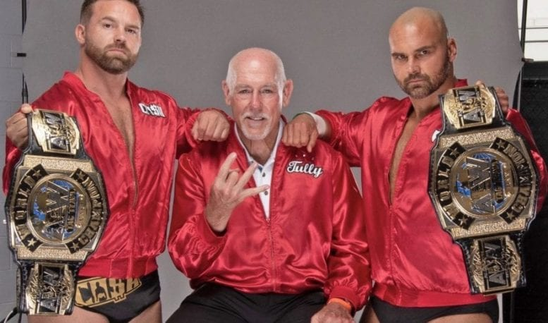 A wrestling legacy born in Whiteville — David Harwood reflects on journey from backyard wrestling to top of tag team world