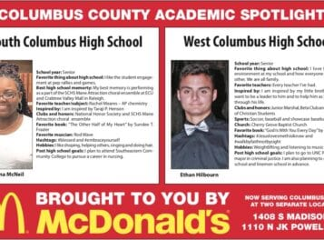 Columbus County Academic Spotlight