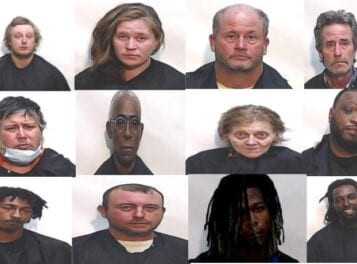 Twelve drug arrests made in CCSO's 'Operation Submit a Tip'