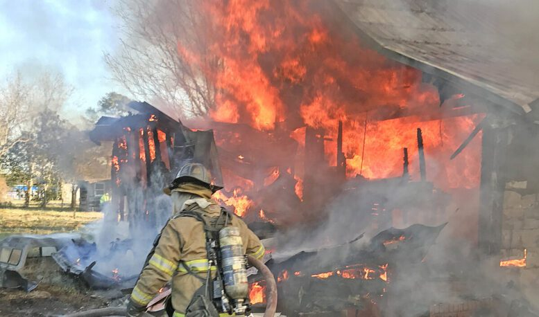 Home, storage building destroyed in separate fires hours apart