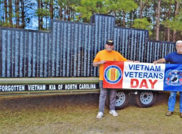 The Columbus Report: North Carolina Vietnam Wall in downtown Whiteville