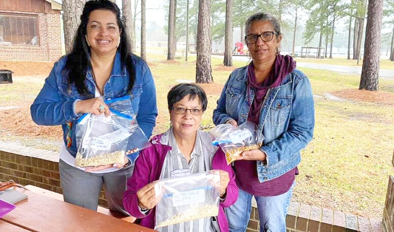 Planting the seed of promise – Waccamaw Siouans reunited  with ancestral corn