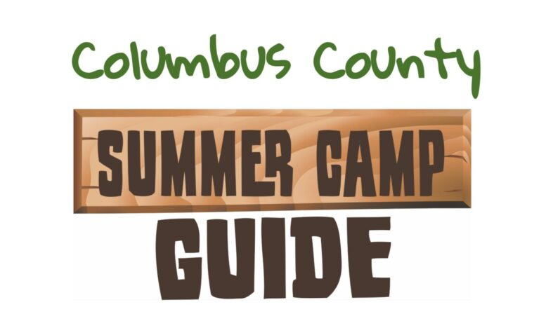 (Updated July 20)  2021 Columbus County Summer Camp Guide