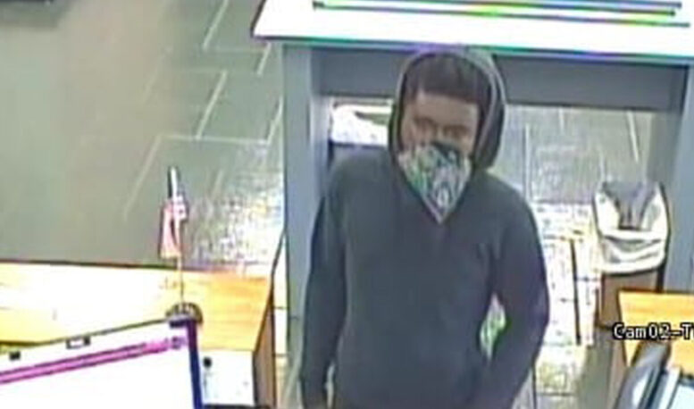 Tabor City bank robber sought by police
