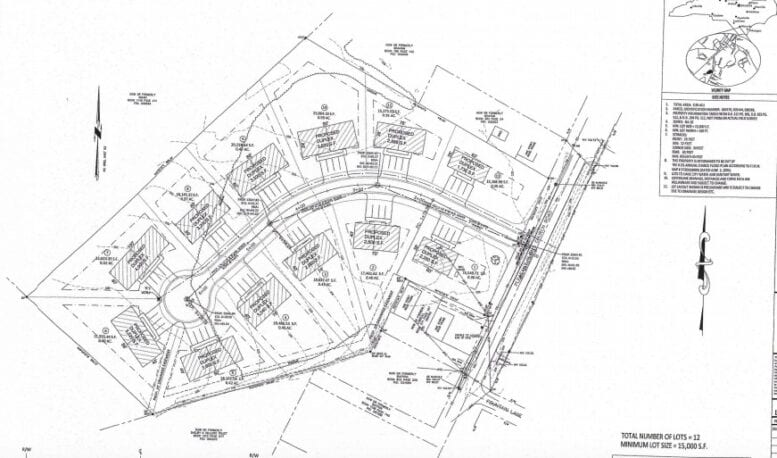 Potential Pleasant Plains subdivision in the works