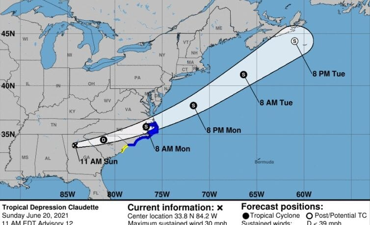 Flash flood watch issued for Columbus as Claudette approaches