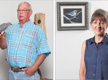 Sculptor, painter bring nature to life in Arts Council exhibit