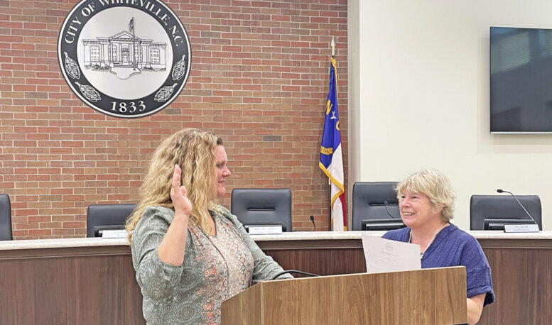 Holden takes oath; vows to be 'doer more than a sayer' on city council