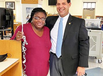 Whiteville principal of the year 'grateful to God'